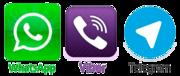 Jsme na WatsApp, Viber a Telegram